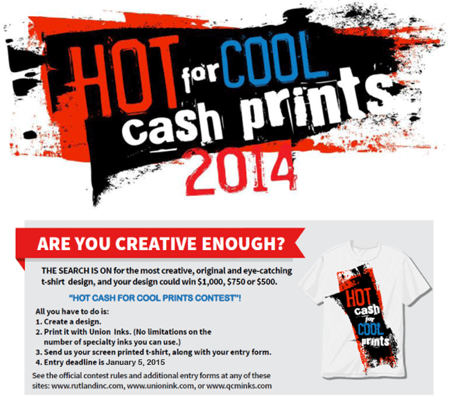 Hot Cash for Cool Prints