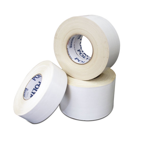 This white tape type is poly coated for extra solvent resistance. This tape is excellent for the screen printer who wants tape to adhere and stay on the screen through numerous washings with solvent. <br /><br /> <span style=color:red>Click &quot;Read More&quot; below to see tape comparison chart.</span>