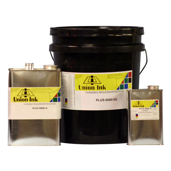 "PLRE-9000 is a special ""balanced"" reducer that is used to thin the viscosity of plastisol inks. It contains both resin  and plasticizer which helps maintain the balance of plastisol when reducer is added. It should be added in small  quantities as needed. Generally for short print runs it is not necessary to reduce the entire container of ink. Just the top portion can be reduced."