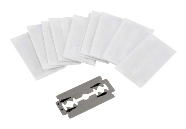 Replacement blades for the Alvin Zippy cutter. Pkg of 12.