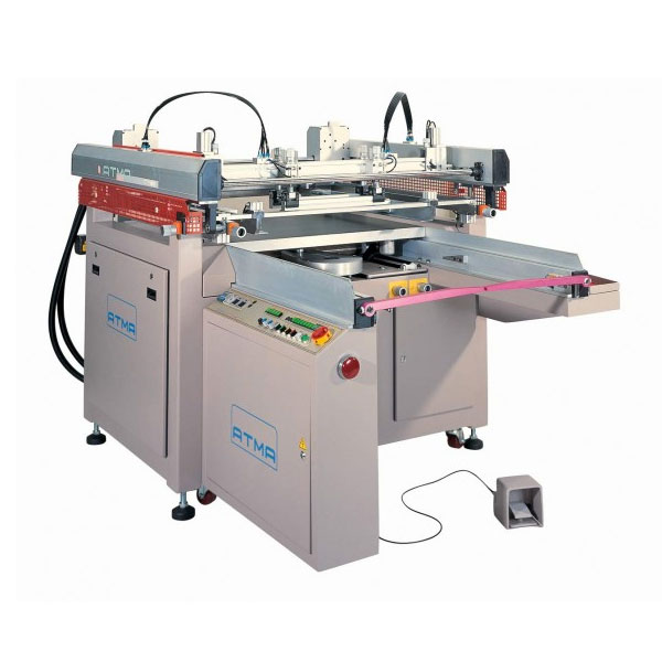 <p><h3>ATMACE 3/4 AUTOMATIC SCREEN PRINTER</h3> The ATMACE Screen Printer features Elegant Design, an excellent ATMA technology outstanding elegancy over logical high&#45;performance design, close tolerance quick-reactive electro-mechanical transmission system can suffice various larger format job requirements.  Top Quality: ISO 9002 certified quality-assurance system, plus &#34;Symbol of Excellence&#34; awarded, assures top quality finish. Application: For flat-surfaced screen-printing on Film, Sheet, Thin Board, Mylars, Posters, Stickers, Membrane Switches, Name Plates, Sign Boards, Flexible Printed Circuit Boards etc</p>