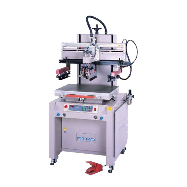 <p>The Pneumatic Mid-size Press is a two post press with vertical lift that prevents ink flow off. It features an open front for quick and easy set up.This press is suitable for printing on 3 dimensional flat rigid substrates &#40;see table in the read more&#41;. Micro-computer control feature selections, single-actions, digital setting and display, light/beeper indications etc. functions.  ISO-9001 & 14001 Certified quality featuring unique vertical screen up/down design, solid and light-weighted structure, compact size, user friendly operations and functions, a Top-quality choice of its price level in the market.</p>