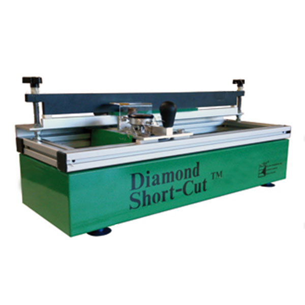 "The small format, manual precision sharpener for screen printing squeegees 20"" (51cm) or less. This portable table-top design fits anywhere and comes equipped with a single industrial strength diamond sharpening wheel."