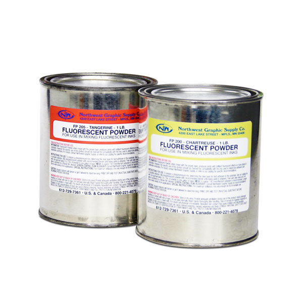 "The FP Series consists of finely ground (5-20 micron)       powdered fluorescent pigments for dusting, plastic          impregnating and for mixing into select clear vehicles for  inks and coatings.  FP Series fluorescent pigments enhance  color brightness. See the ""Read More"" for mixing    instructions. Sold in 1 lb. containers."