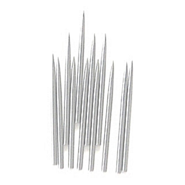 <p>The Grifhold No. 44-P replacement pins for piercing are made from high carbon steel and tapered to and extra sharp point for piercing, weeding and lifting for a variety of materials such as vinyl, paper, hand cut film and pressure sensitive plastics.</p>