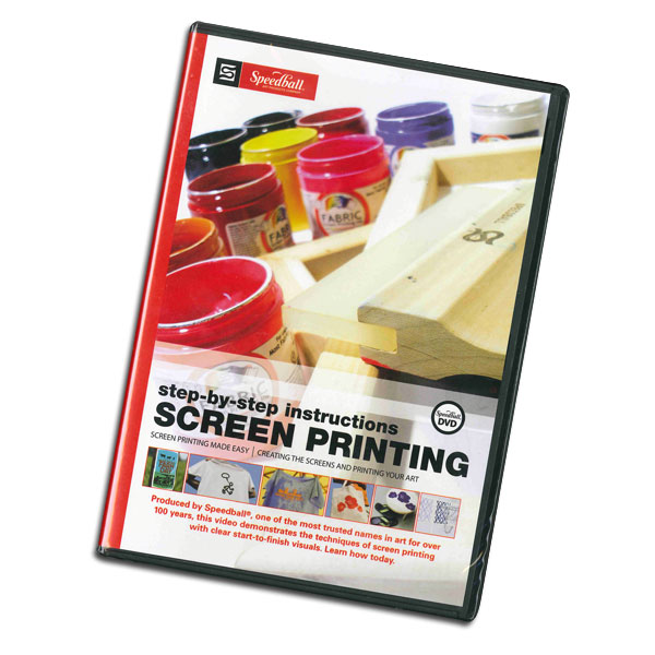 Step-by-Step instructions for screen printing produced by   Speedball.
