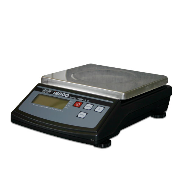 <p>Professional compact digital scale offering a mammoth    weighing capacity that increments in 0.1 gram intervals.    The My Weigh i2600 weighs up to 2600 grams (5.73 lbs.). My  Weigh iBalance 5500 is the perfect higher capacity precisionscale, weighing up to 5500 grams (12.125 lbs.).  Nothing on the market compares for price and features especially with  5500 grams weighing capacity and in 0.1 gram increments.    The iBalance comes complete with an AC Adapter and large    6.5&quot; x 5.25&quot; stainless steel weighing platform.  The        extra-large backlit LCD makes for easy reading even in poor lighting.  The base of the scale has height adjustable      rubber feet, these are used in combination with the included level bubble so you can set the scale at a perfectly flat  angle (for optimum accuracy).  My Weigh i5500 and i2600     digital precision scales read in 7 Standard modes for a wide array of weighing applications. </p>