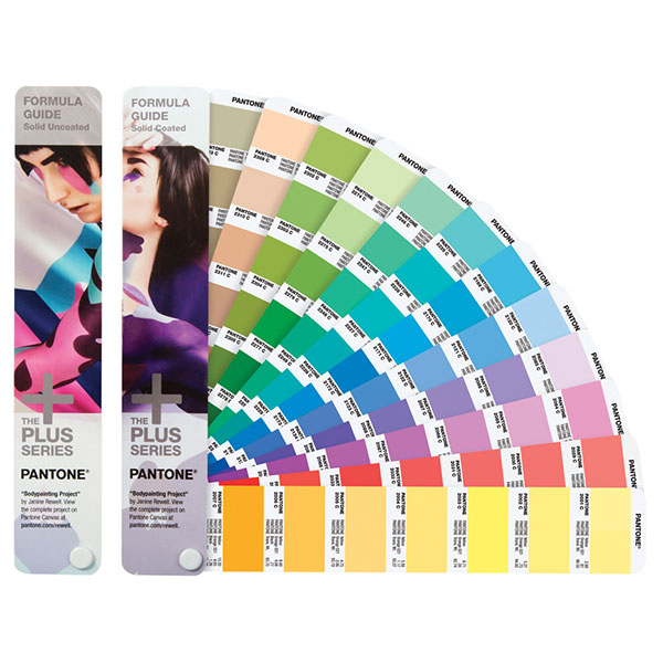 <p>The best-selling guide in the world for design           inspiration, color specification, and printing accuracy,    Formula Guide illustrates 1,867 Pantone spot colors with    their corresponding ink formulations. Use this guide for    logos and branding, marketing materials, packaging, and when spot color printing is required.</p>                       <p>Two portable, handheld fan decks printed on coated and   uncoated paper, printed on the most commonly used paper     stock weights (100 lb for coated and 80 lb for uncoated).   Lighting Indicator page demonstrates when lighting          conditions are suitable for color evaluation.</p>